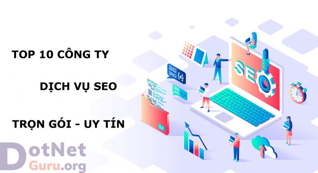 Top 10 công ty seo trọn gói