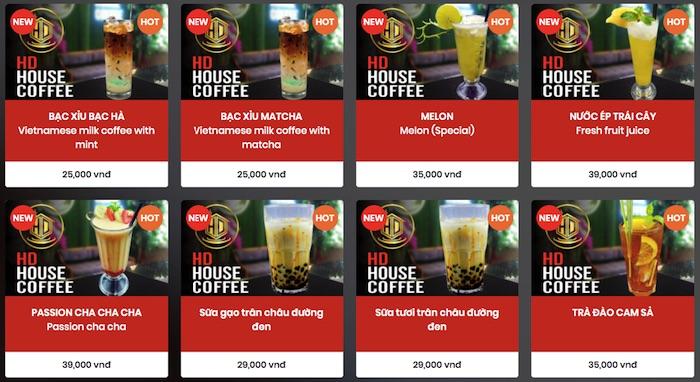 Phần mềm quản lý quán cafe Mona Media
