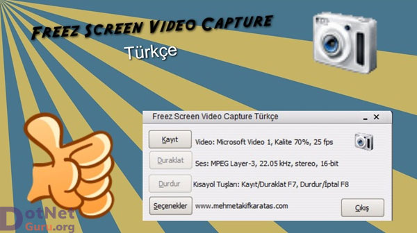 Freez Video Capture