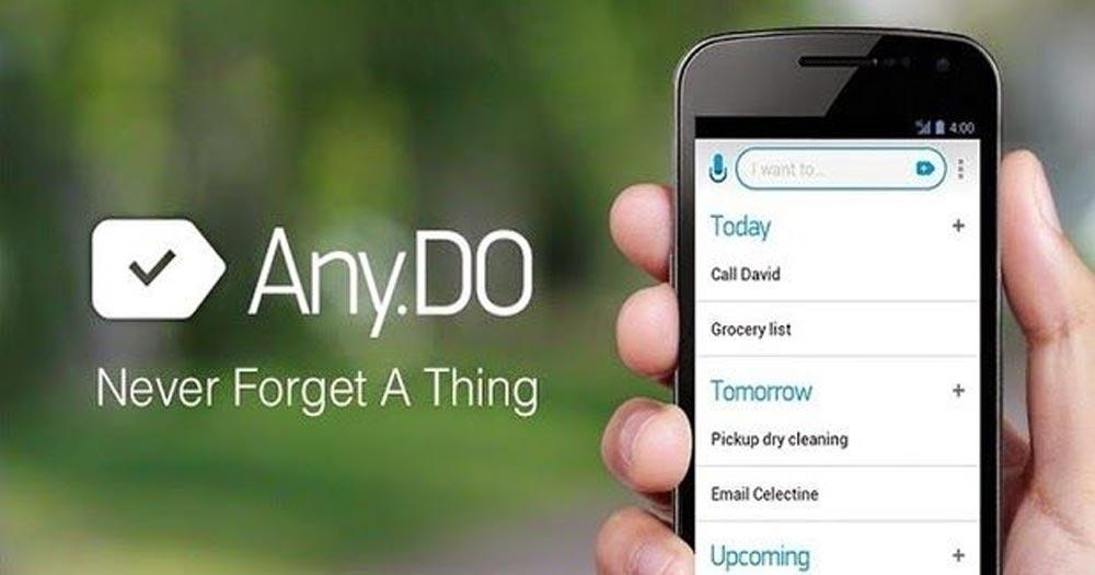 công cụ quản lý công việc Any.do: To-Do List, Task List