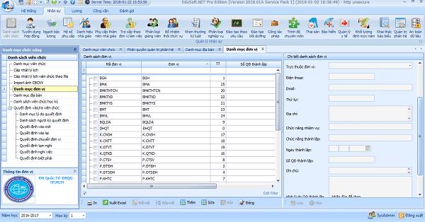 Phần mềm quản lý giáo dục Edusoft