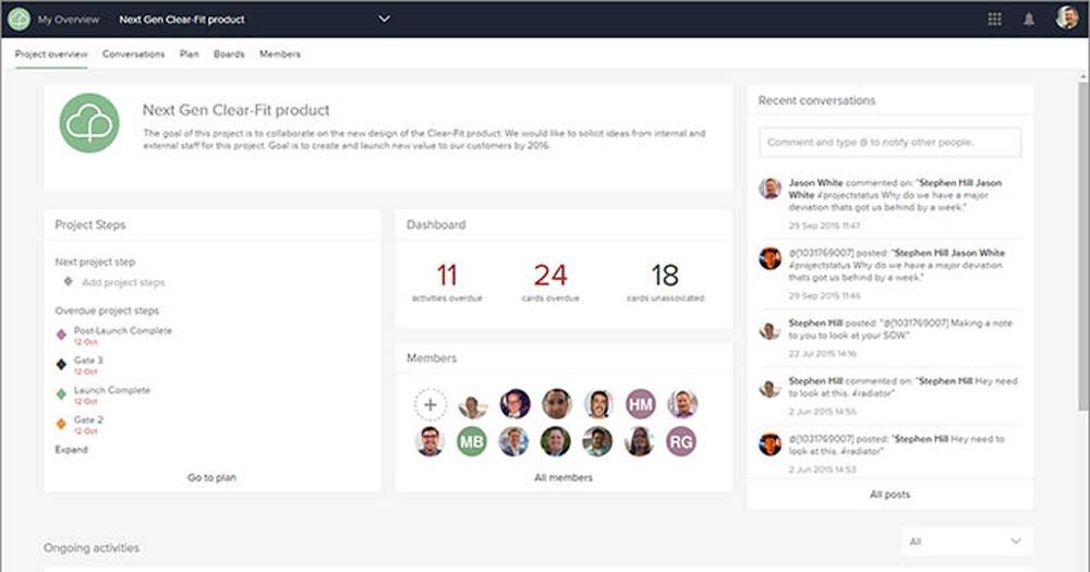 ứng dụng quản lý dự án Project Place