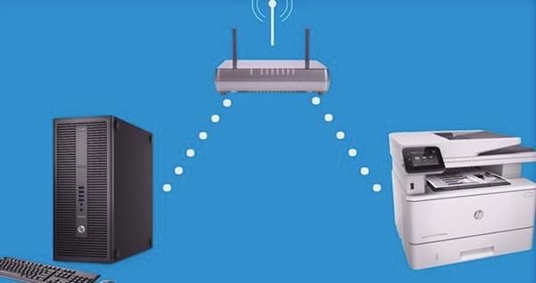 Hướng dẫn kết nối máy chủ với máy in, máy photo qua mạng wifi