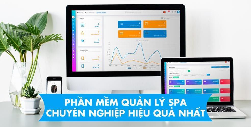 Phần mềm quản lý spa - thẩm mỹ viện - làm nail đẹp chuyên nghiệp