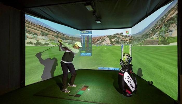 Phòng tập driving range 3D tại nhà