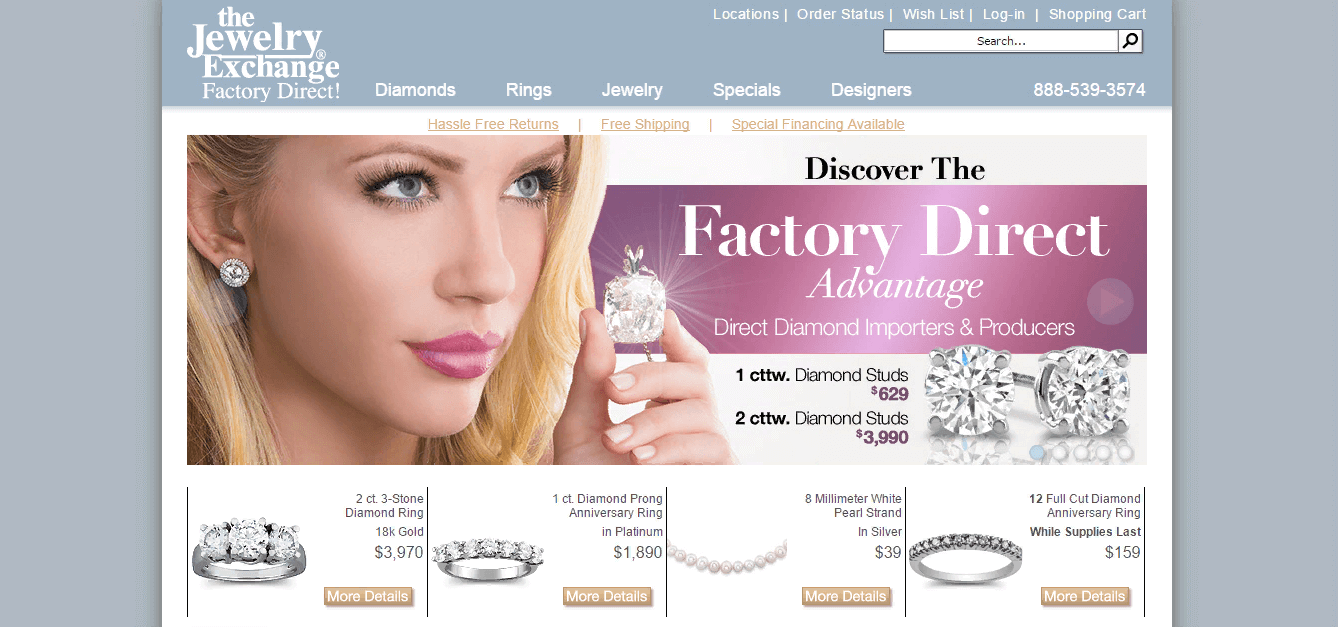 Thiết kế website bán hàng trang sức chuyên nghiệp