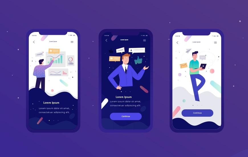 thiết kế giao diện ứng dụng di động