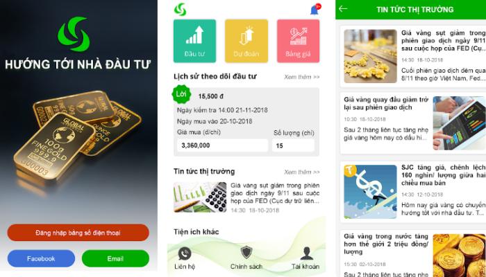 App tra cứu giá vàng trong và ngoài nước - Đầu tư vàng